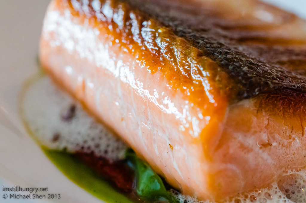 Aria seared salmon