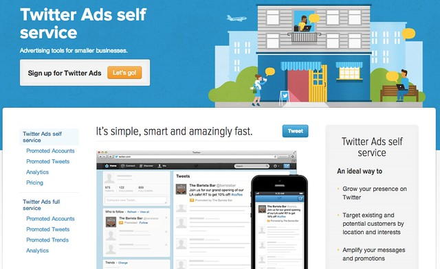 twitter Ads self service
