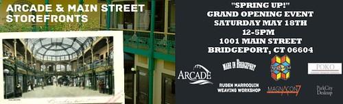 an event of CreateHereNow in Bridgeport (courtesy of CreateHereNow)
