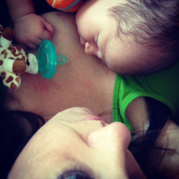 Newborn snuggles