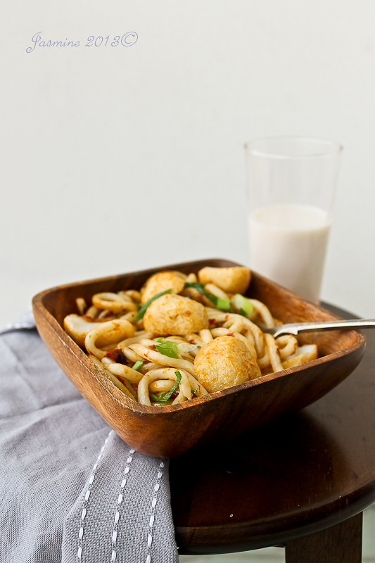 Belacan Udon Noodles