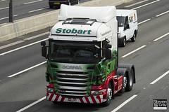 Scania R440 6x2 - PN11 UYT - Shannon Meghann - Eddie Stobart - M1 J10 Luton - Steven Gray - IMG_8212