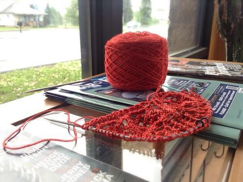 New shawl design start 3