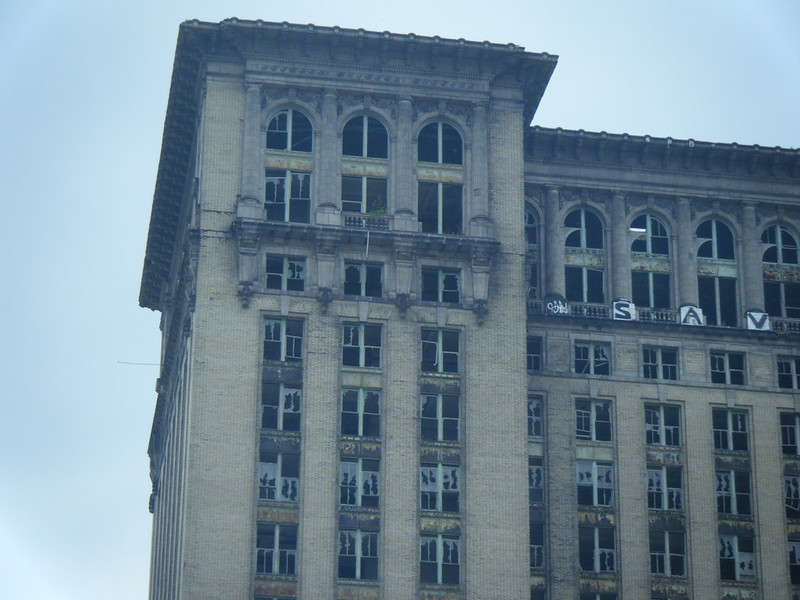 Michigan Central Station top floors