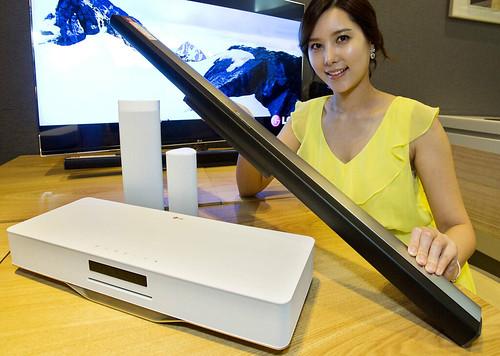 LG전자 스마트 AV기기와 모델