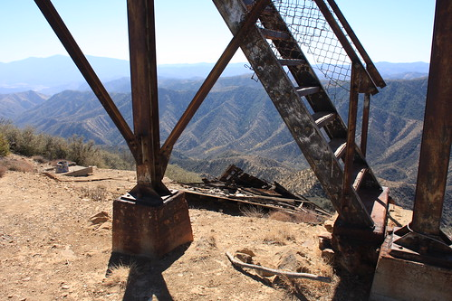 Cuyama Peak Lookout/AWS Cabin Remains No. 1