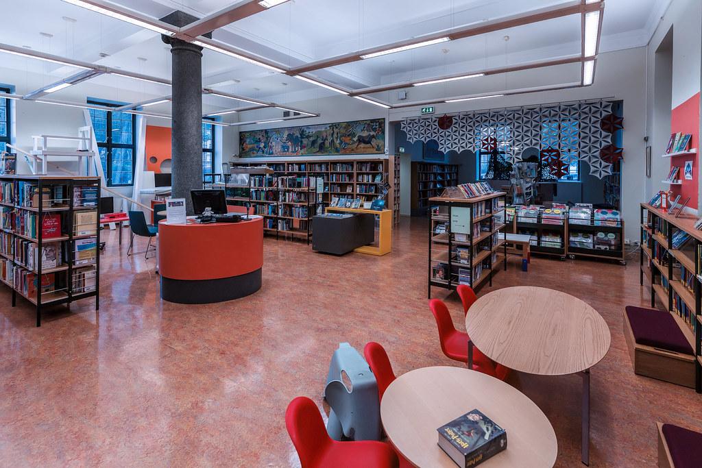 offentlig bibliotek