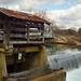 Finley river falls at the Ozark Mill