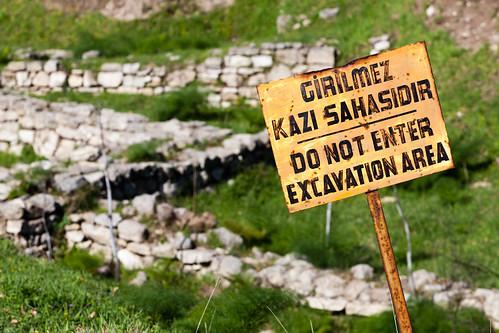 Ausgrabungen; copyright 2013: Georg Berg