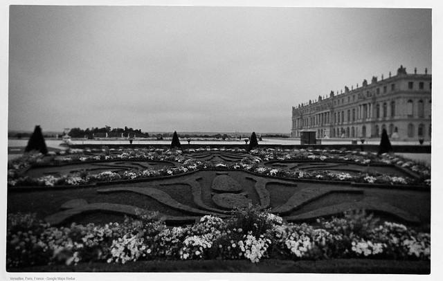 Gardens, Versailles, Paris - Google Maps Redux