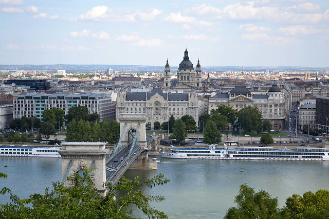The Chain Bridge | Budapest, Hungary