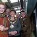 The Mayor at the Fusilier Tram event