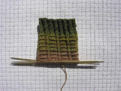 Taiyo Sock Llama Llama Duck wip