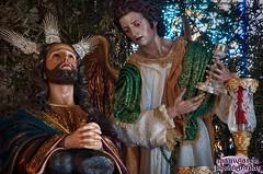 Jesús de la Oración en el Huerto preparado para el Lunes Santo