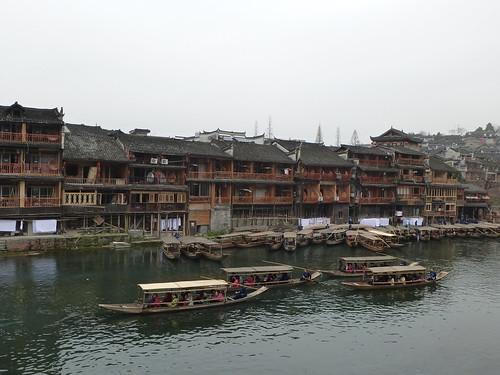 Hunan13-Fenghuang-Ville-Rive Nord (28)