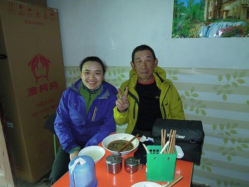 中国のサイクリスト