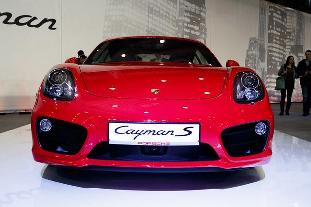 Porsche Cayman S - Motor Show Poznań