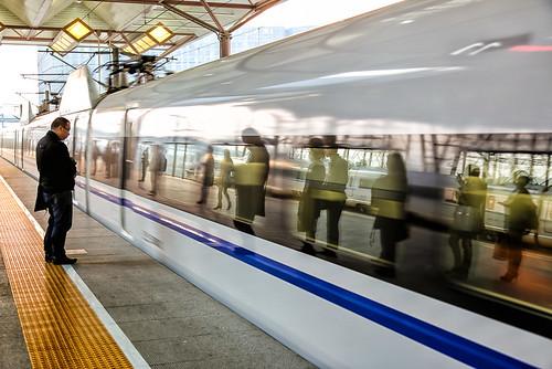 Shanghai by train