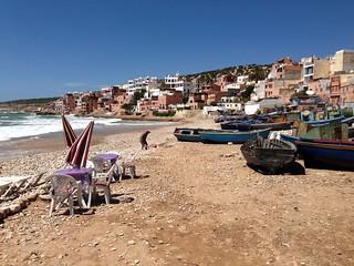 Taghazout Sandy beach görüntü. beach surf surfing agadir morocco taghazout