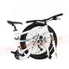 254-064 Change-DF609D1726吋27速碟煞折疊登山單車SHIMANO ACERA白(含攜車袋)2