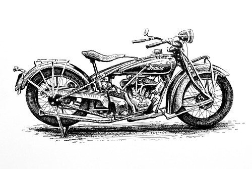 Indian Motorcycle by Colin Murdoch Studio