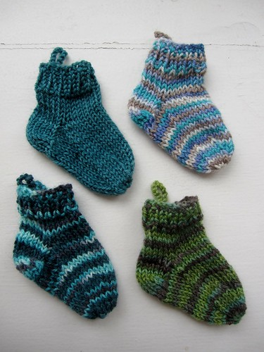 SGY Mini socks, round 2