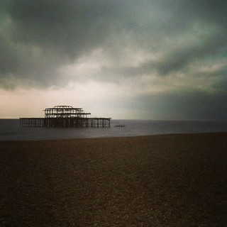 The West Pier has been  trashed since before I was born, but it's still a genuinely sad sight.