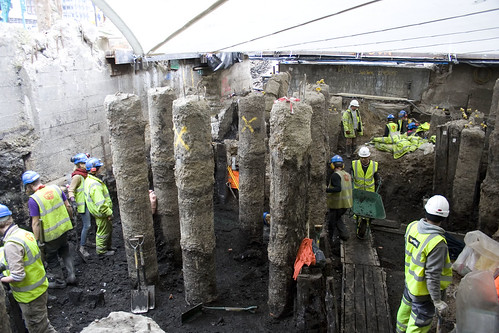 MOLA archaeology at the Bloomberg Square Project