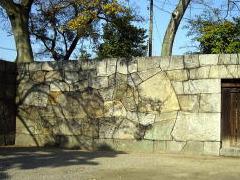 高松城の石垣