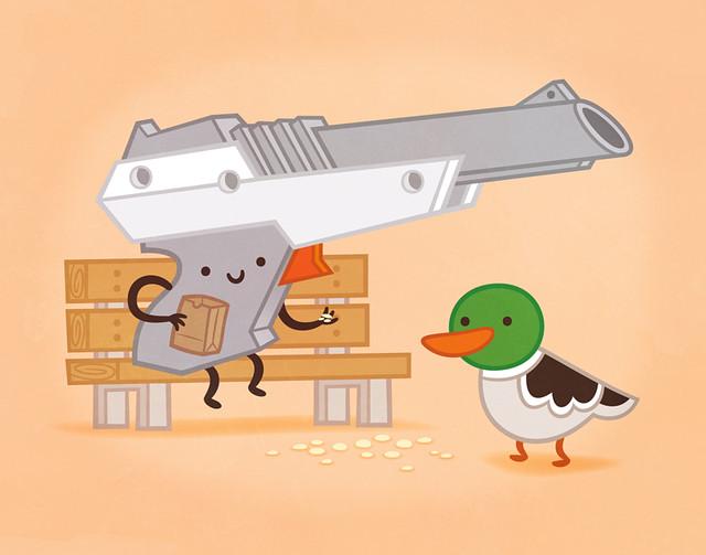 Here Ducky, Ducky