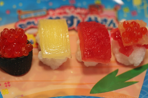 Candy sushi finished!