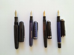 2013 Atlanta Pen Show haul.