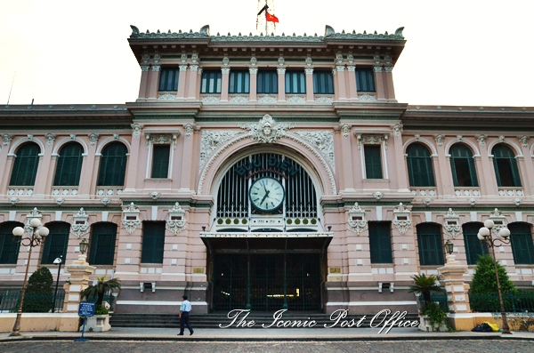 Iconic Saigon Post Office