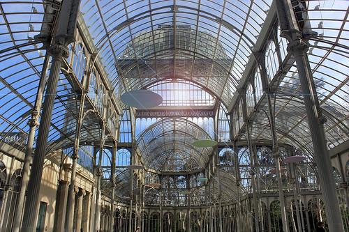MADRID / Interior del Palacio de Cristal (Parque del Retiro) 15/04/2013