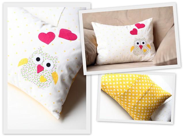 Baykuşlu Yastık - 1