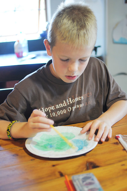 jman painting earth