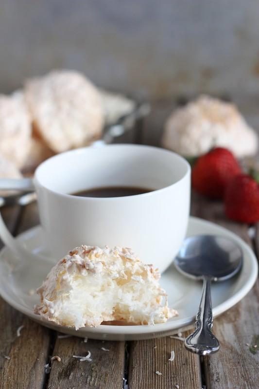 Coconut Meringue Macaroons