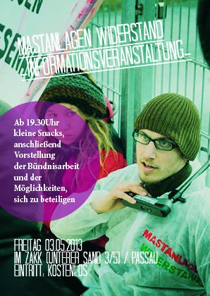 Informationsveranstaltung Passau