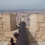 Cannon, Castle Alicante