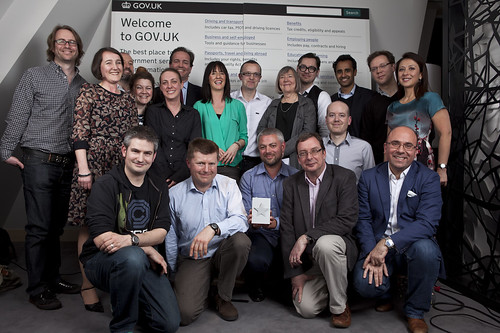 Some of the team behind the Design of the Year