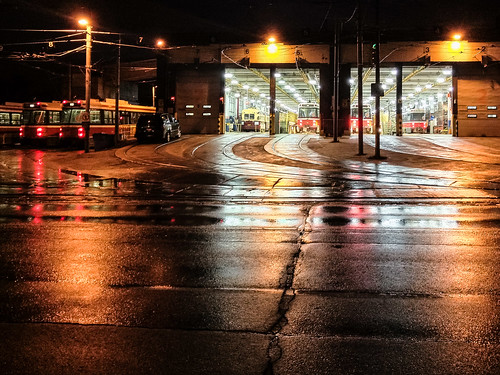 Where the TTC streetcars go for some TLC - #109/365 by PJMixer