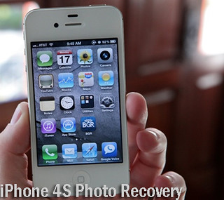 recover photos from iPhone 4S