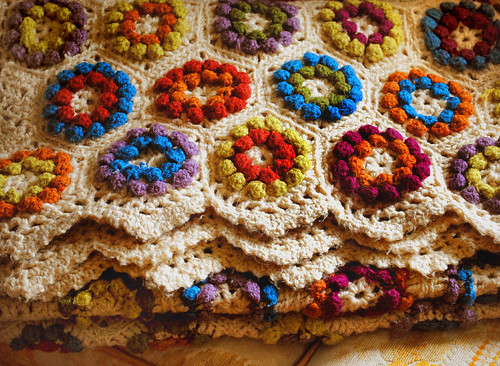 Crochet Vintage Collectable Afghan