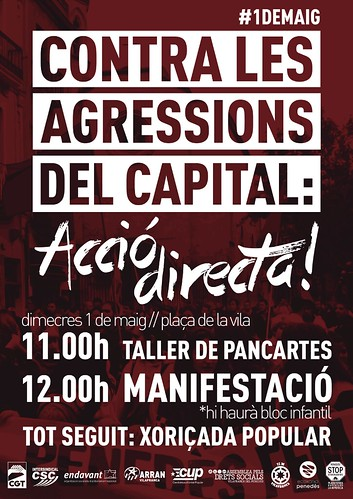 1er Maig Vilafranca del Penedès 2013