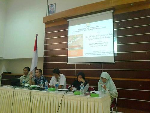 Diskusi Ilmiah Bulanan Quo Vadis Interkoneksi Islam & Kesejahteraan Sosial