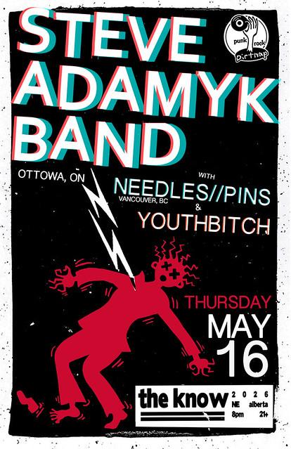 5/16/13 SteveAdamykBand/NeedlesPins/Youthbitch
