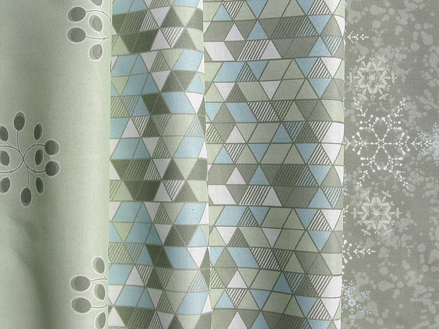 Pattern collection for fabric, wall coverings and paper gift wrap: Still Winter Woods