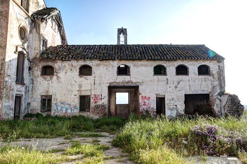 Patio de la mansión