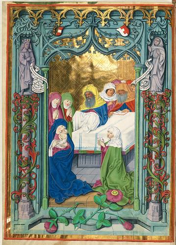 005- Presentacion en el Templo-Misal de Salzburgo-1499-Tomo 2 -Biblioteca Estatal de Baviera (BSB)