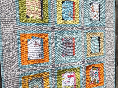 Baby books quilt from Patchwork please